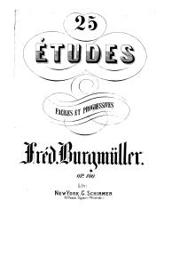 F. Burgmuller op 100