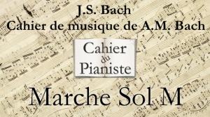 Bach -12- Marche Sol M