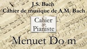 Bach -14 - Menuet Dom