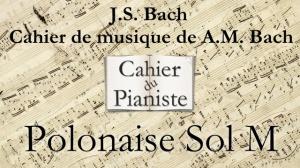 Bach -16 - Polonaise Sol M