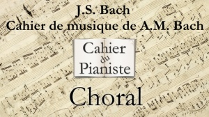 Bach -7- Choral