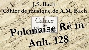 Bach -18 - Polonaise Rém