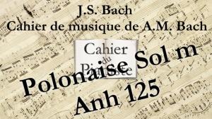 Bach -19 - Polonaise Solm