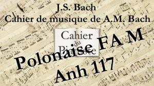 Bach -20 - Polonaise FAM