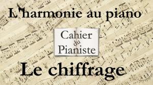 L'harmonie au piano - Les chiffrages