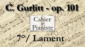 7_Gurlitt_Op101_Lament